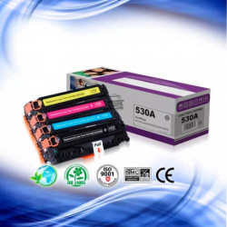 Toner HP CC530A 531A 532A 533A (304A)