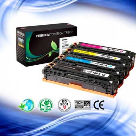 Toner HP CF380A 381A 382A 383A (312A)