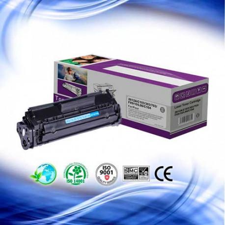 Toner HP Q2612A Negro