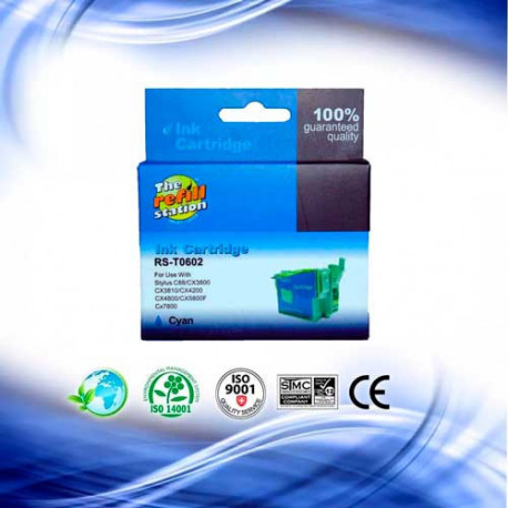 Cartucho Epson T060220 Cyan - Premium