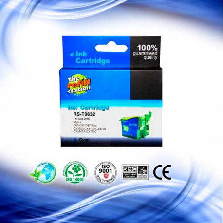 Cartucho Epson T063220 Cyan - Premium