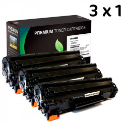 3X1 HP 285A 435A 436A Negro