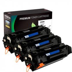 3X1 Toner HP CF283A Negro